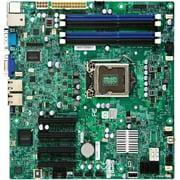 Supermicro X9SCM-B LGA1155/ Intel C204 PCH/ DDR3/ SATA3/ V&2GbE/ MicroATX Server Motherboard (Bulk)