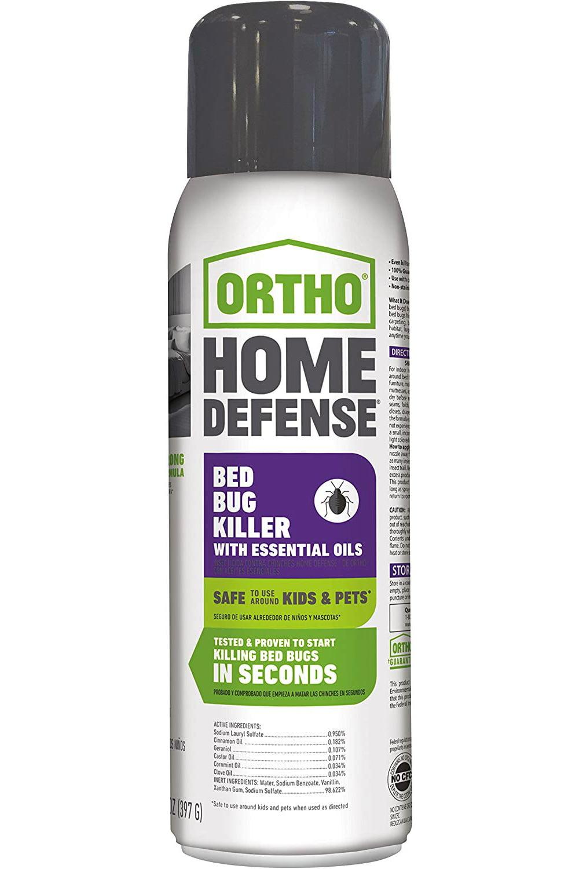 Ortho Home Defense Bed Bug Killer With Essential Oils 14 Oz Spray Brickseek
