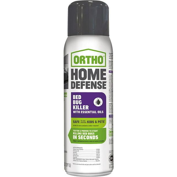 Ortho Home Defense Bed Bug Killer With Essential Oils 14 Oz Spray Walmart Com Walmart Com
