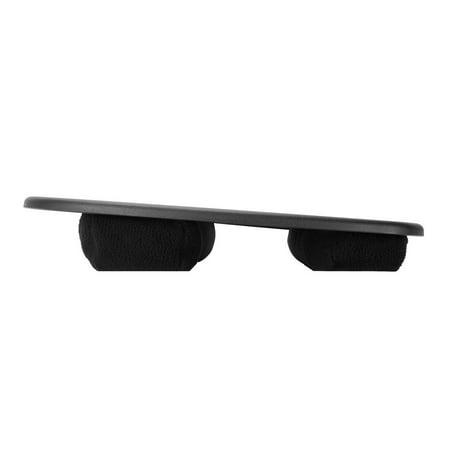Moustache Ergonomic Design Lap Top Desk with Cushion, Laptop Lapdesk, Black - image 4 of 8