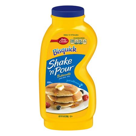 Betty Crocker Bisquick Shake \'N Pour Buttermilk Pancake Mix, 10.6 oz