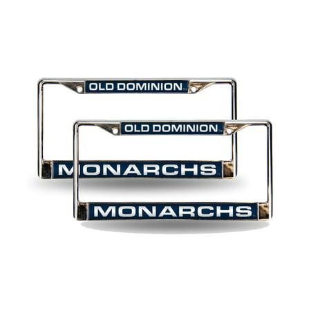 Old Dominion Monarchs Chrome Metal 2 Laser Cut License