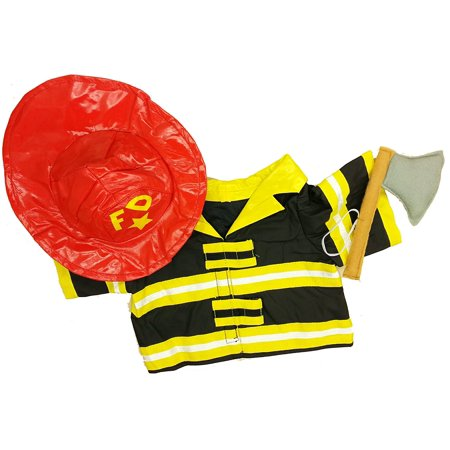 Fireman Outfit For Adults (Fireman Outfit Teddy Bear Clothes Outfit Fits Most 14