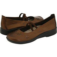 Arcopedico 6811: Women's Flower Flat Shoes by Arcopedico