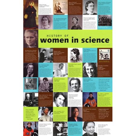 Learning Zone Poster - Women in Science Poster Laminated Poster - 23x35