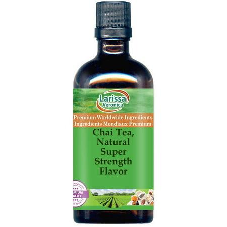 - Chai Tea, Natural Super Strength Flavor (16 oz, ZIN: 527607)