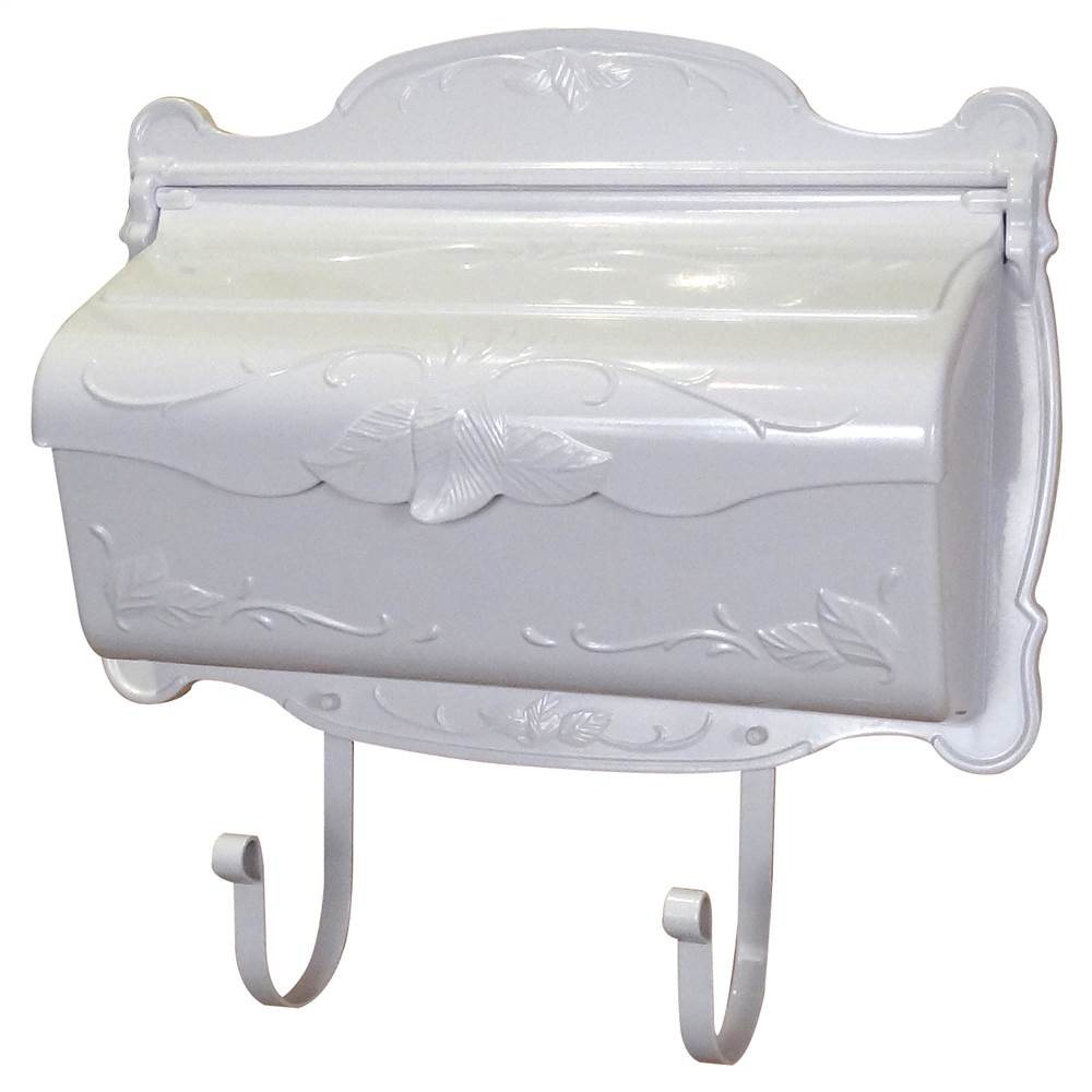 Special Lite Products Floral Horizontal Wall Mounted Mailbox by Special Lite Products Company