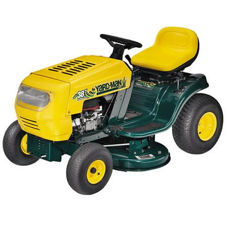 how to start a yardman lawn mower