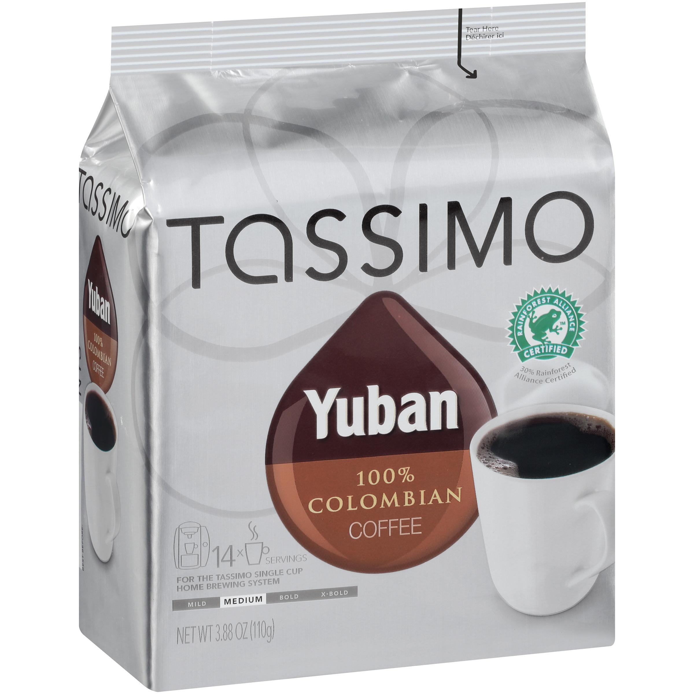 Tassimo Yuban 100% Colombian Coffee T Discs 14 ct. Bag
