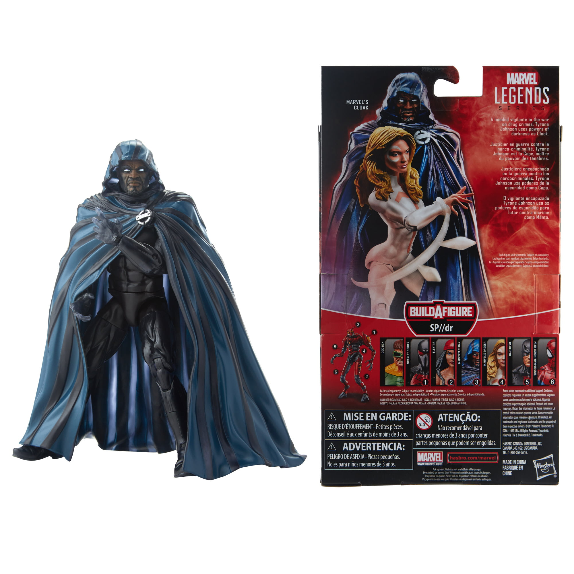 Complete Set of 7 Hooded Capes for 8 inch Retro Figures