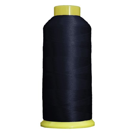 Large 5000m Cones Polyester Machine Embroidery Thread  Huge 5000M (5500 Yard) Cones 40wt  For Brother Janome Bernina Embroidery & Sewing Machines  No. 436 - Flag Navy - 160 Colors Available This high sheen polyester thread for machine embroidery has outstanding tensile strength and color-fastness. Polyester thread offers outstanding performance for today's sophisticated computerized sewing machines. 5000m king size cones (2200yds)  100% Polyester. 40 wt.