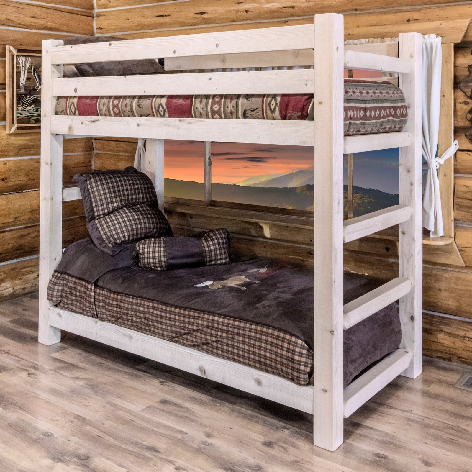 Montana Woodworks Homestead Twin Over Twin Bunk Bed