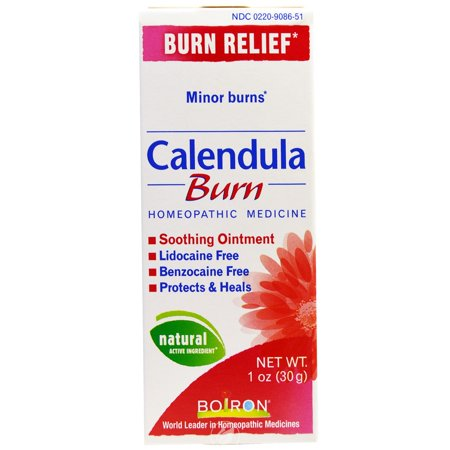 Boiron Calendula Burn Ointment 1 Ounce, Pack of 2
