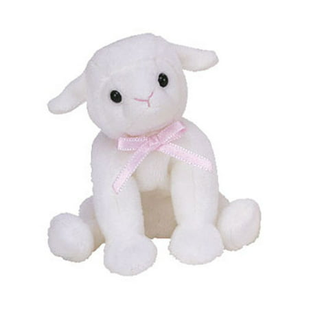 TY Basket Beanie Baby - LULLABY the Lamb (4.5 inch)