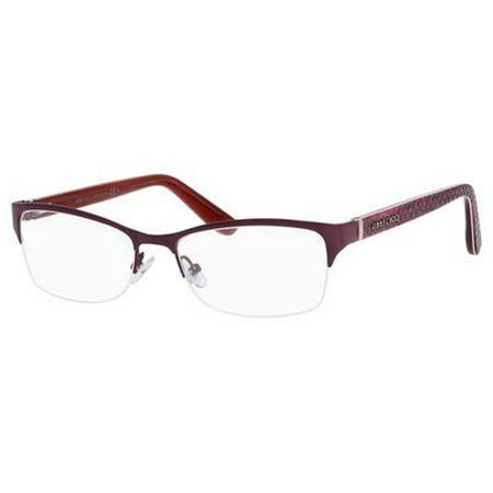7b1f43a1eb99 JIMMY CHOO - JIMMY CHOO Eyeglasses 124 0KI8 Matte Black 54MM - Walmart.com