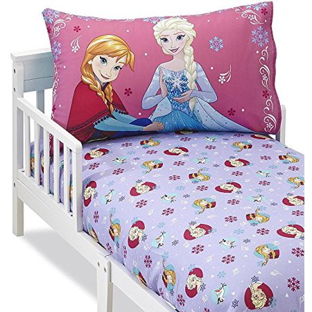 Disney Frozen 2 Piece Toddler Sheet Set Walmart Com