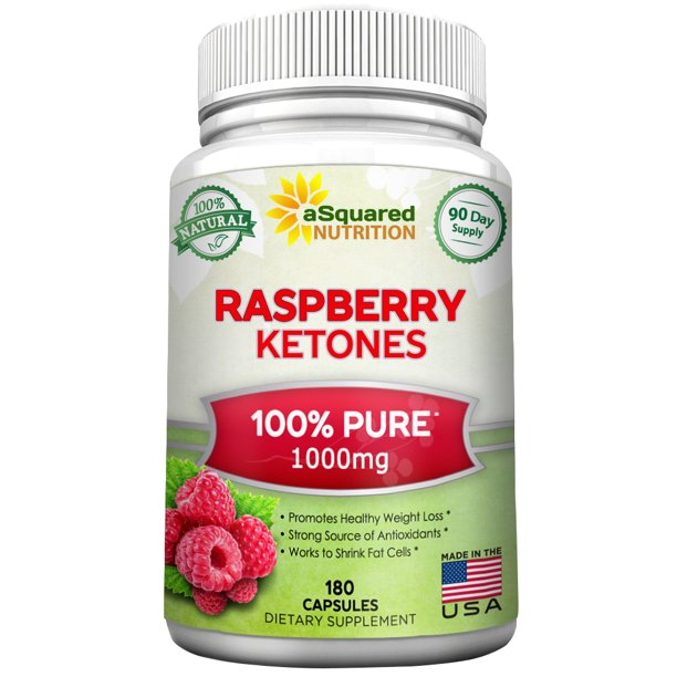 Asquared Nutrition 100 Pure Raspberry Ketones 1000mg 180 Capsules All Natural Weight Loss Extract Supplement Max Strength Appetite Suppressant Diet Pill To