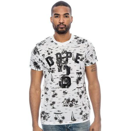 89820cb7f True Rock - True Rock Men's Dope 3 Graphic Crew T-Shirt-Gray/Black-Large  (White/Black, 2XL) - Walmart.com