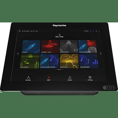 01 Multifunction Color Display - Raymarine E70363-00-NAG AXIOM 7 Multifunction Display with Navionics+ US & Canada Charts