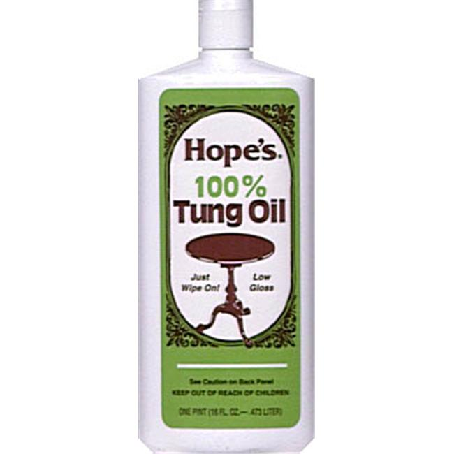 The Hope Company 1 Pint 100 percent Tung Oil  16TO12
