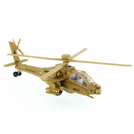 X Forces Attack Helicopter, Desert Tan - Showcasts 51265 - Diecast Model Toy Car (Brand New but NO BOX)