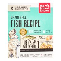 The Honest Kitchen Zeal: Natural Human Grade Dehydrated Dog Food, Grain Free White Fish, 10 lbs (Makes 40 lbs)
