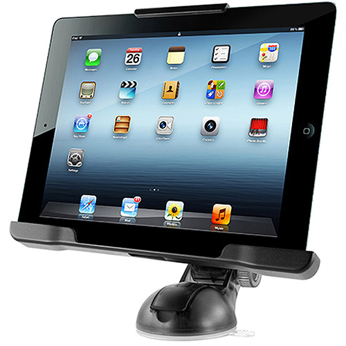 """iOttie Easy Smart Tap Table Car and Desk Mount for Apple iPad 10"""", Black"""