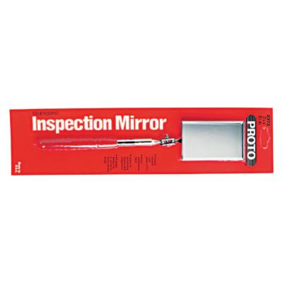 Inspection Mirrors, 2 1/8 in X 3 1/2 In, 11 1/4 In-15 1/2 in L