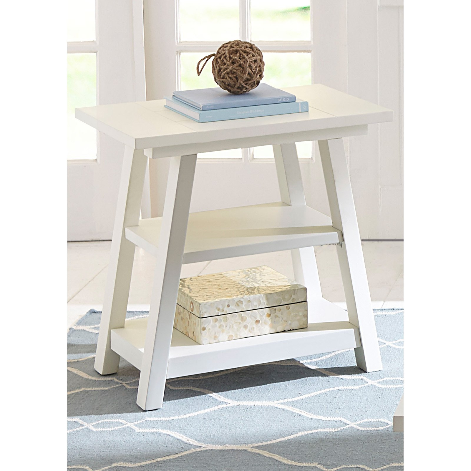 Liberty Furniture Summer House Chair Side Table