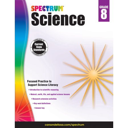 Spectrum Science, Grade 8