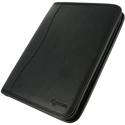 Black Executive Leather Case for iPad 2 / The new iPad