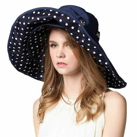 Noroomaknet - Noroomaknet Womens Hats Wide Brim Beach Hat Sun Hat Foldable Summer  Sunshade Hat For Women - Walmart.com 9dfea90c5c