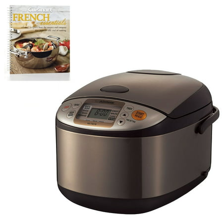 Zojirushi NSTSC18XA Micom 10-cup Rice Cooker/Warmer (Stainless Brown) + (Oyama 10 Cup Stainless Steel Rice Cooker)