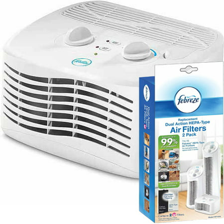 Febreze Tabletop Air Purifier with Replacement Filter 2 (Best Tabletop Air Purifier)