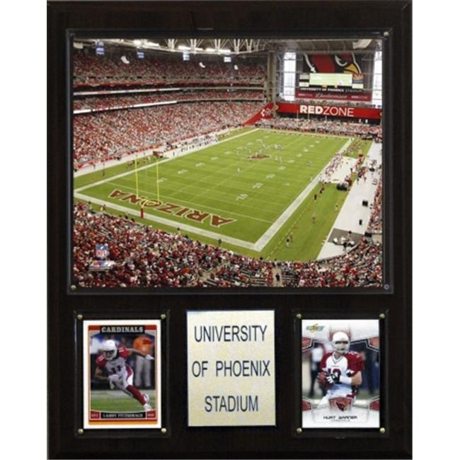C & I Collectables 1215UPHST NFL University of Phoenix Stadium Plaque