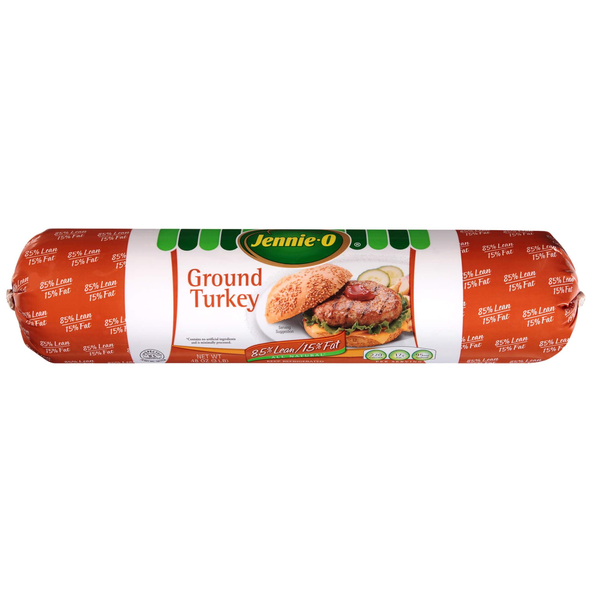Jennie-O Ground Turkey Roll, 3 lb