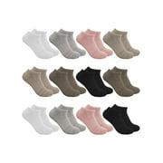 Sof Sole (12 Pairs) Womens Ankle Socks, Low Cut Socks, No Show Socks for Women