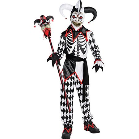 Sinister Jester Costume - - Jester Outfit