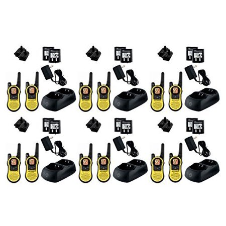 12-PACK Motorola TALKABOUT MH230R FRS/GMRS 2 Way Radios, 23-Mile Range 22 Channels, Brand New Sealed 12 PACK