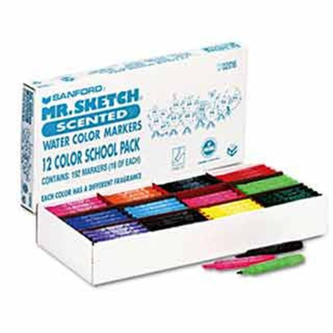 Sanford Ink 1905311 Scented Watercolor Marker, 12 Colors