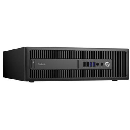 HP Business 600 G2 ProDesk P5U76UT Small Form Factor Desktop PC with Intel Core i7-6700 Processor, 8GB Memory, 256GB Solid State Drive and Windows 7 Professional