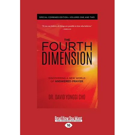The Fourth Dimension : Special Combined Edition - Volumes One and Two (Large Print (Chemistry A Molecular Approach By Tro 4th Edition)