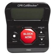 Panasonic V5000 CPR Call Blocker w/ 3 Caller Display Screen