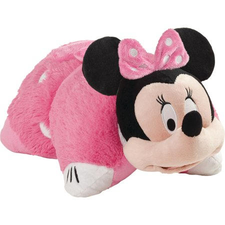 Disney Mouse Stuffed Toy - Pillow Pets Disney Pink Minnie Mouse Stuffed Animal Plush Toy Pillow Pet
