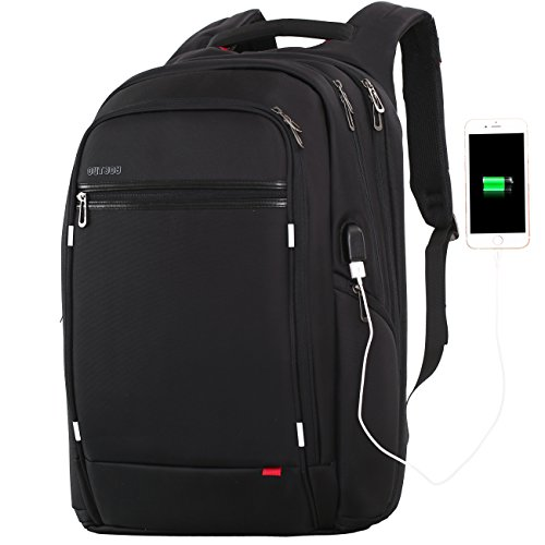 Large 17/'/' Laptop Office College Backpack Water Resistant Business Computer Bags