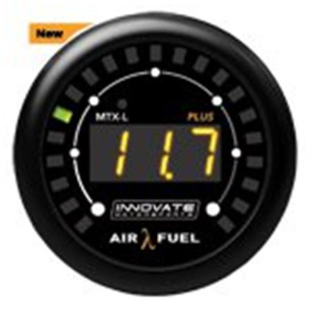 Innovate Motorsports 3918 MTX-L PLUS Digital Air Fuel Ratio Gauge Kit