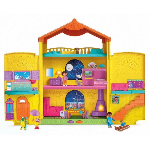 Fisher Price Dora the Explorer Window Surpise Dollhouse by Fisher-Price