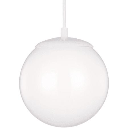 "Sea Gull Lighting 6020 Hanging Globe Single Light 10"" Wide Pendant"