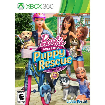 Barbie And Her Sisters: Puppy Rescue (Little Orbit)