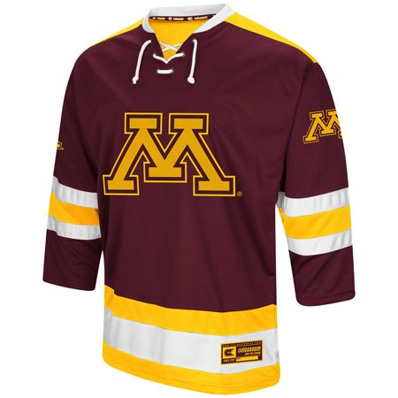 Mens Minnesota Golden Gophers Hockey Sweater Jersey - S